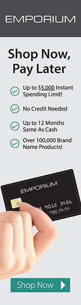 Pacific Credit Group Emporium Black Card