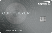 Capital One® Quicksilver® Cash Rewards Credit Card Application
