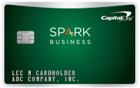 Capital One® Spark® Cash Select for Business Application
