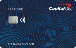 Capital One® Platinum Credit Card Application