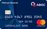 Amalgamated Bank of Chicago Platinum Rewards Mastercard® Credit Card Application