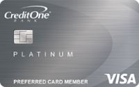 Credit One Bank® Cash Back Rewards Credit Card Application