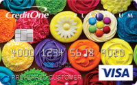 Credit One Bank® Platinum Visa® with Cash Back Rewards Application