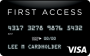 First Access Visa® Solid Black Credit Card