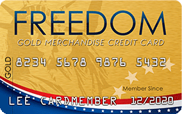 Freedom Gold Card Application