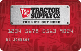 Tractor Supply Company® Personal Credit Card