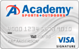 Academy Sports + Outdoors® Rewards Visa Signature® Card