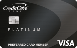 Credit One Bank® Platinum Visa® Application
