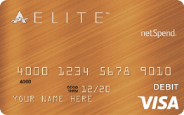 Bronze ACE Elite™ Visa® Prepaid Debit Card Application