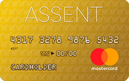 Assent Platinum Mastercard® Secured Credit Card Application