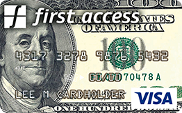 First Access Money on the Move Visa® Credit Card Application
