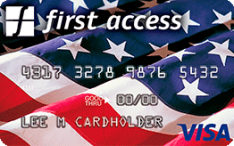 First Access American Pride Visa® Credit Card Application