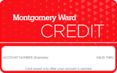Montgomery Ward Credit Application