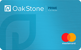 Oakstone Platinum Secured Mastercard® Application